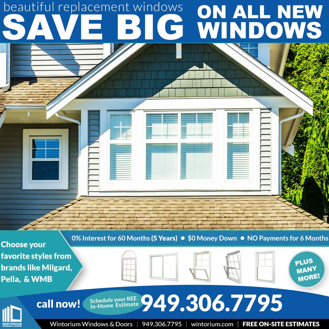 Save Big On All New Windows For Your Project In 2020 Windows And Doors Residential Windows Windows