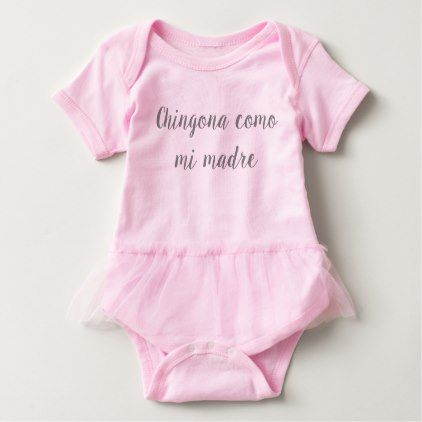 Chingona como mi madre baby girl outfit with tutu baby bodysuit chingona como mi madre baby girl outfit with tutu baby bodysuit girl outfits and baby bodysuit negle Image collections