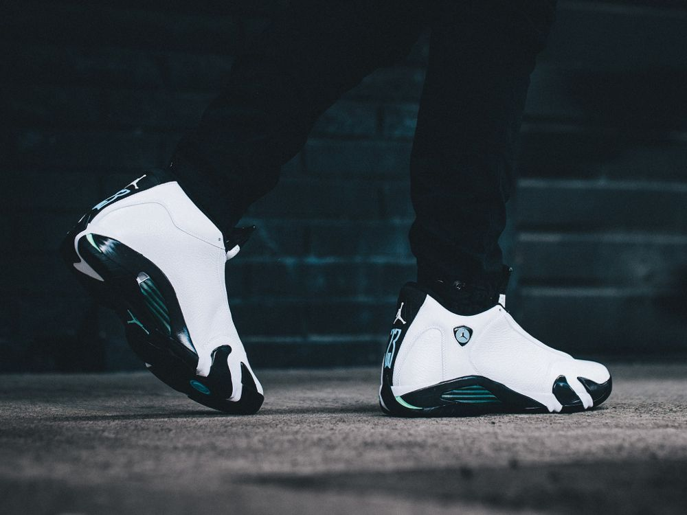 f5cd533fc7c9 Air Jordan 14 Retro  Oxidized Green  post image