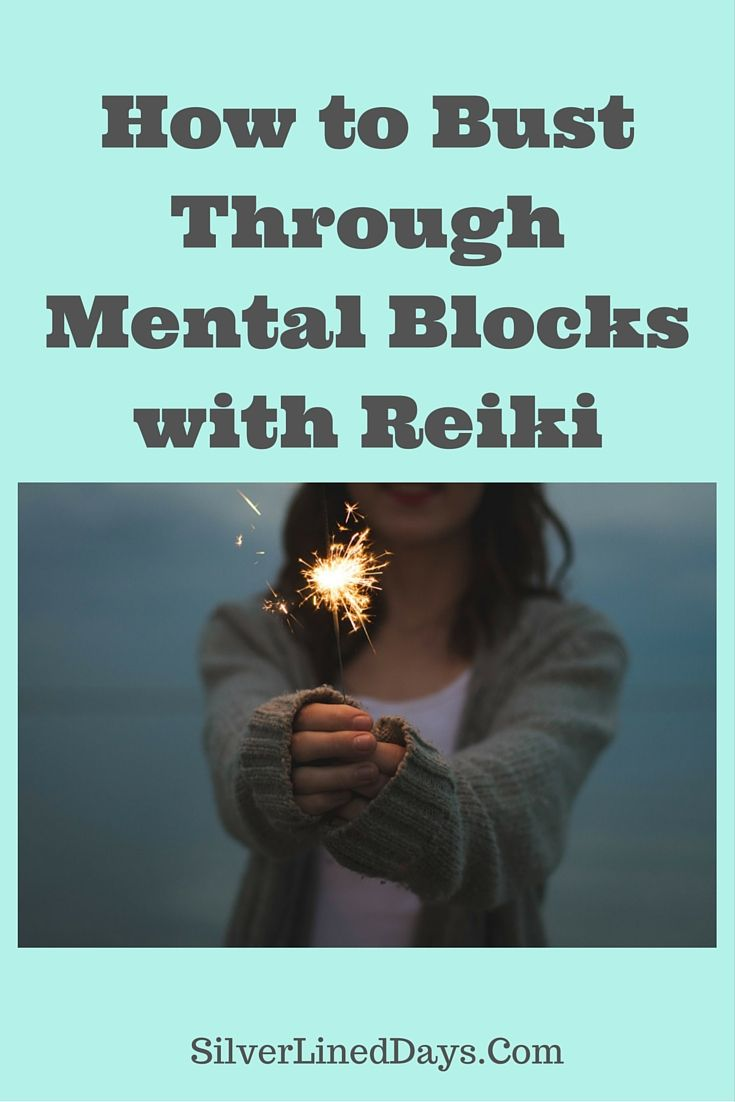 Mental blocks are tough and the only way to get over them