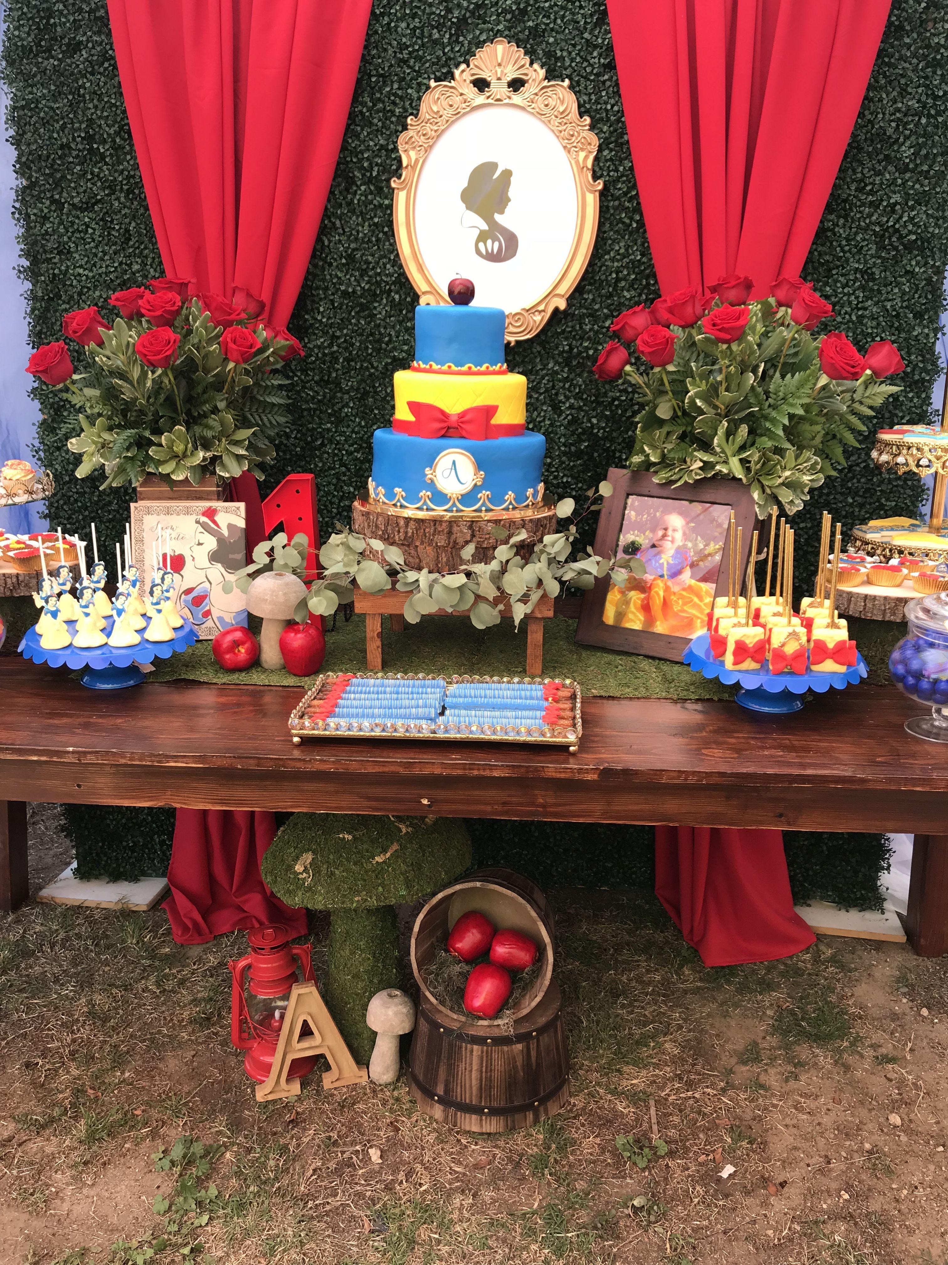 Snow White Party Chicpinkpetals De Yahoo Com Snow White Party
