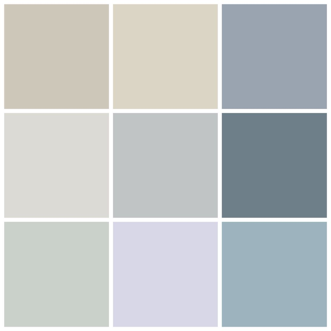 Whole house benjamin moore color scheme revere pewter for Benjamin moore slate grey