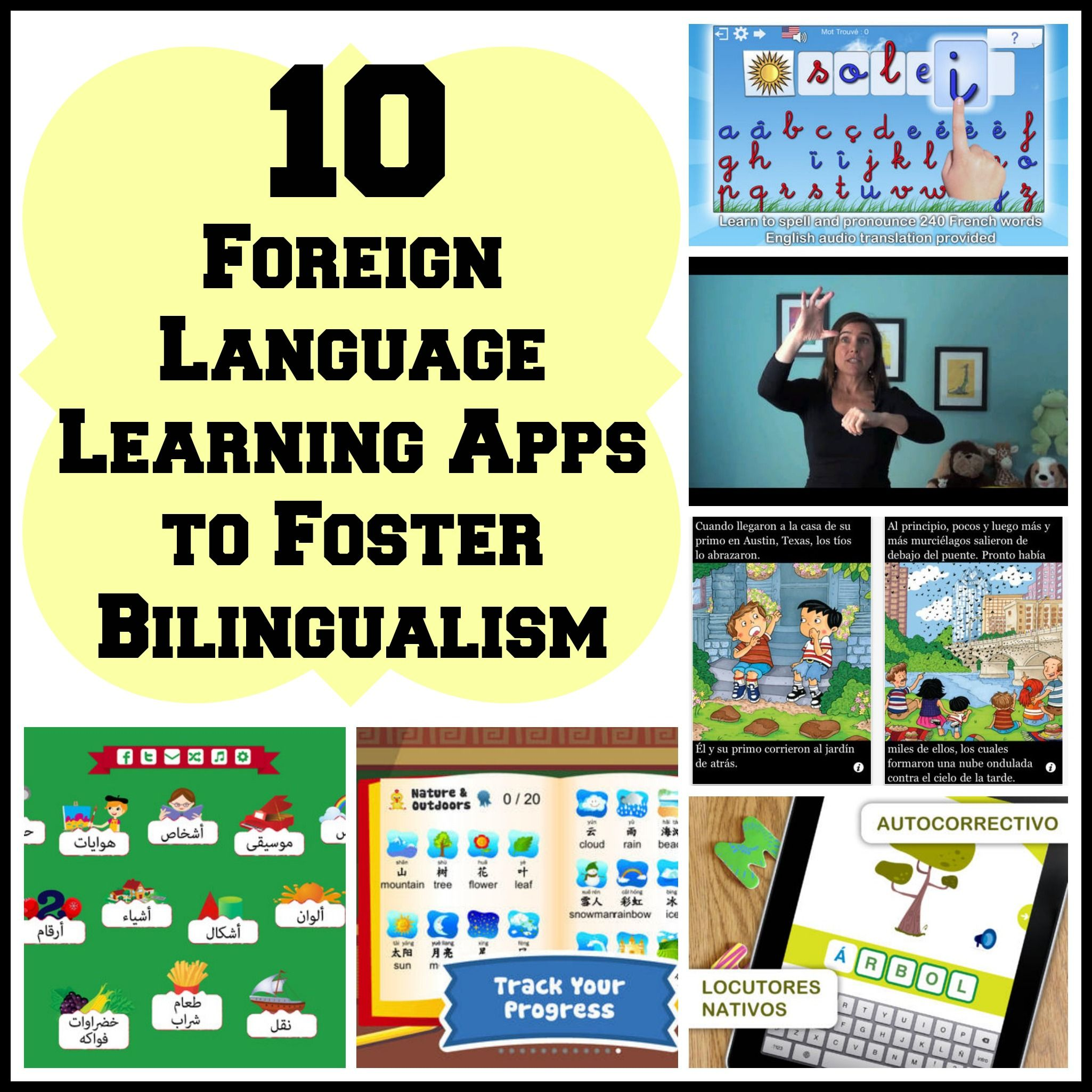 apps to help teach your kid a foreign language language learning a new language isn t always easy but foreign language learning apps can help through engaging and interactive content try duolingo and fabulo