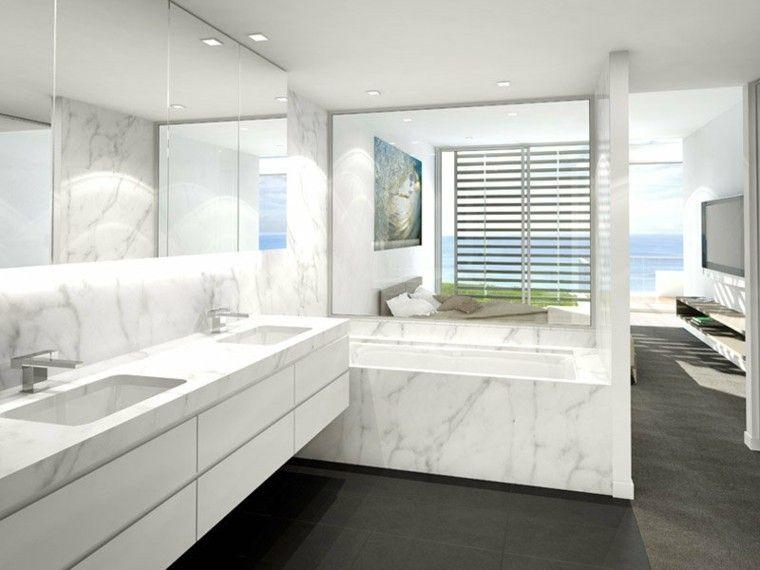 Cuartos de baño con marmol - ideas únicas de ensueño. | casas ...