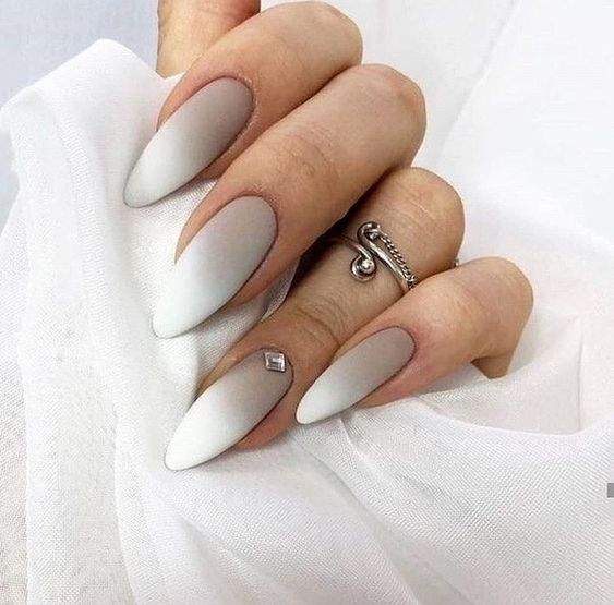 Wonderful Long White Nail Designs to Show Off in 2019 : Page 22 of 29 : Creative Vision Design