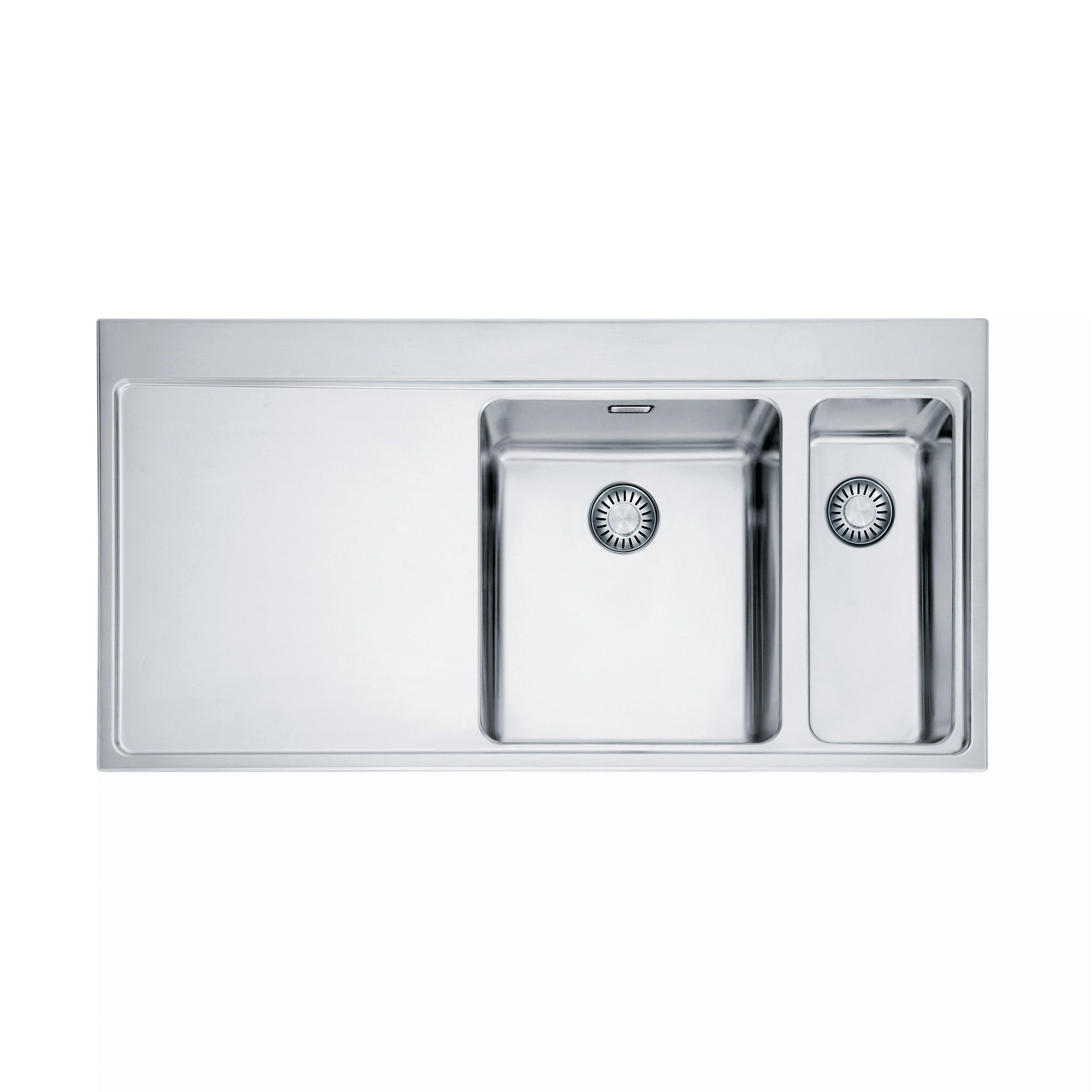 MYTHOS SPÜLE MMX 261 EDELSTAHL - Designer Küchenspülbecken von ...