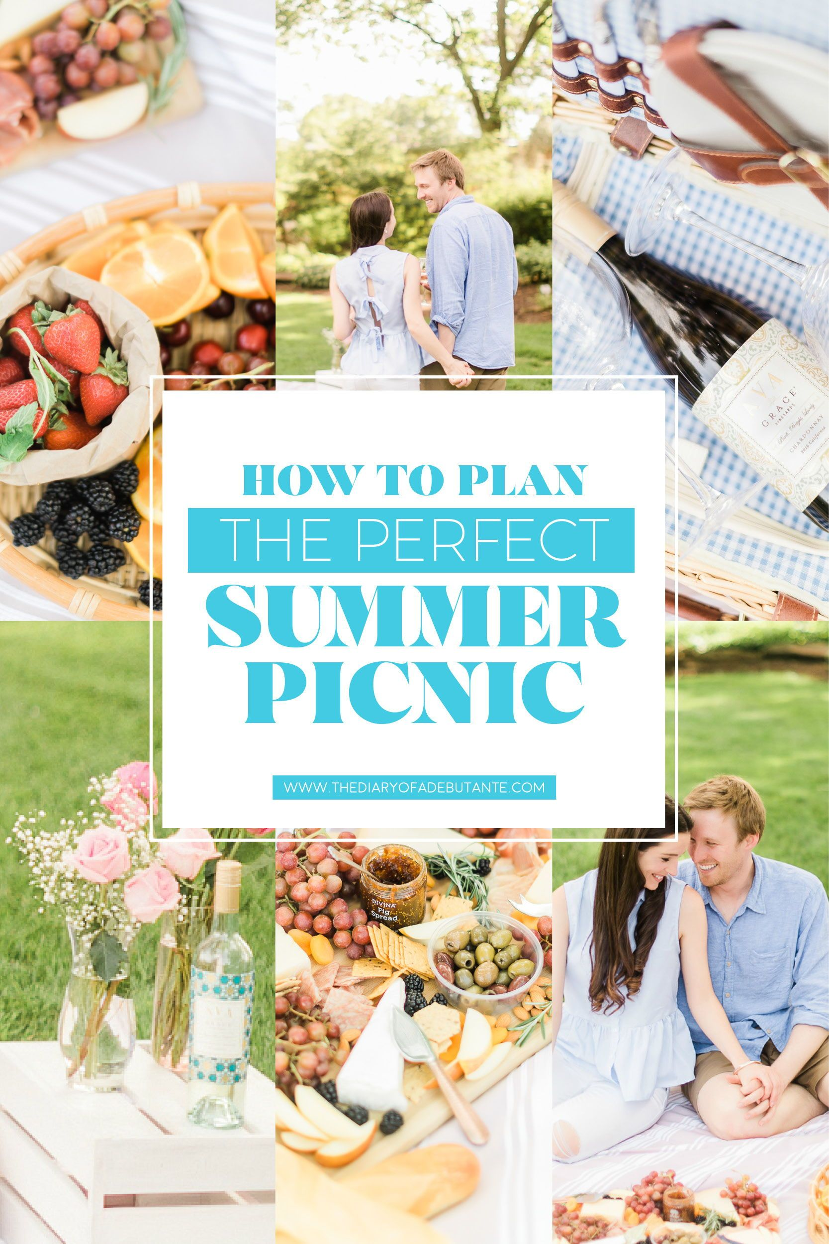 This Date Night Idea Post Features A Handful Of Romantic Summer Picnic Ideas For Him Including Picnic Food Ideas The Best Ava Grace Wines For Spring And