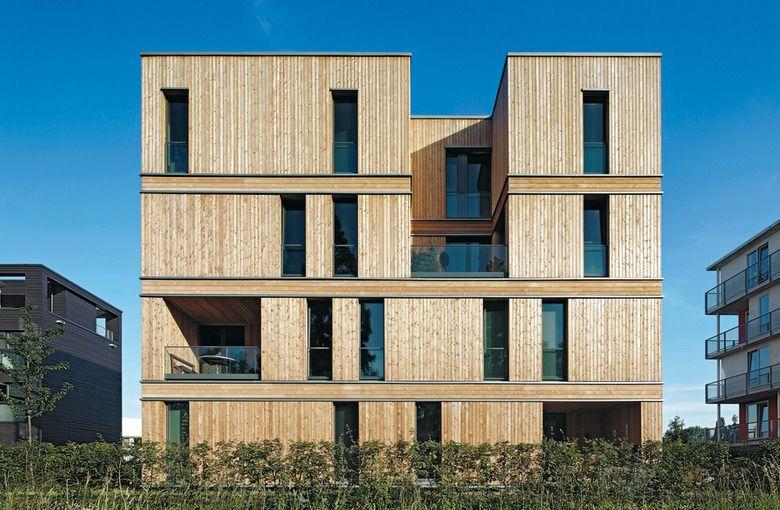 Holzhäuser Hamburg iba apartment building in hamburg detail inspiration architektur