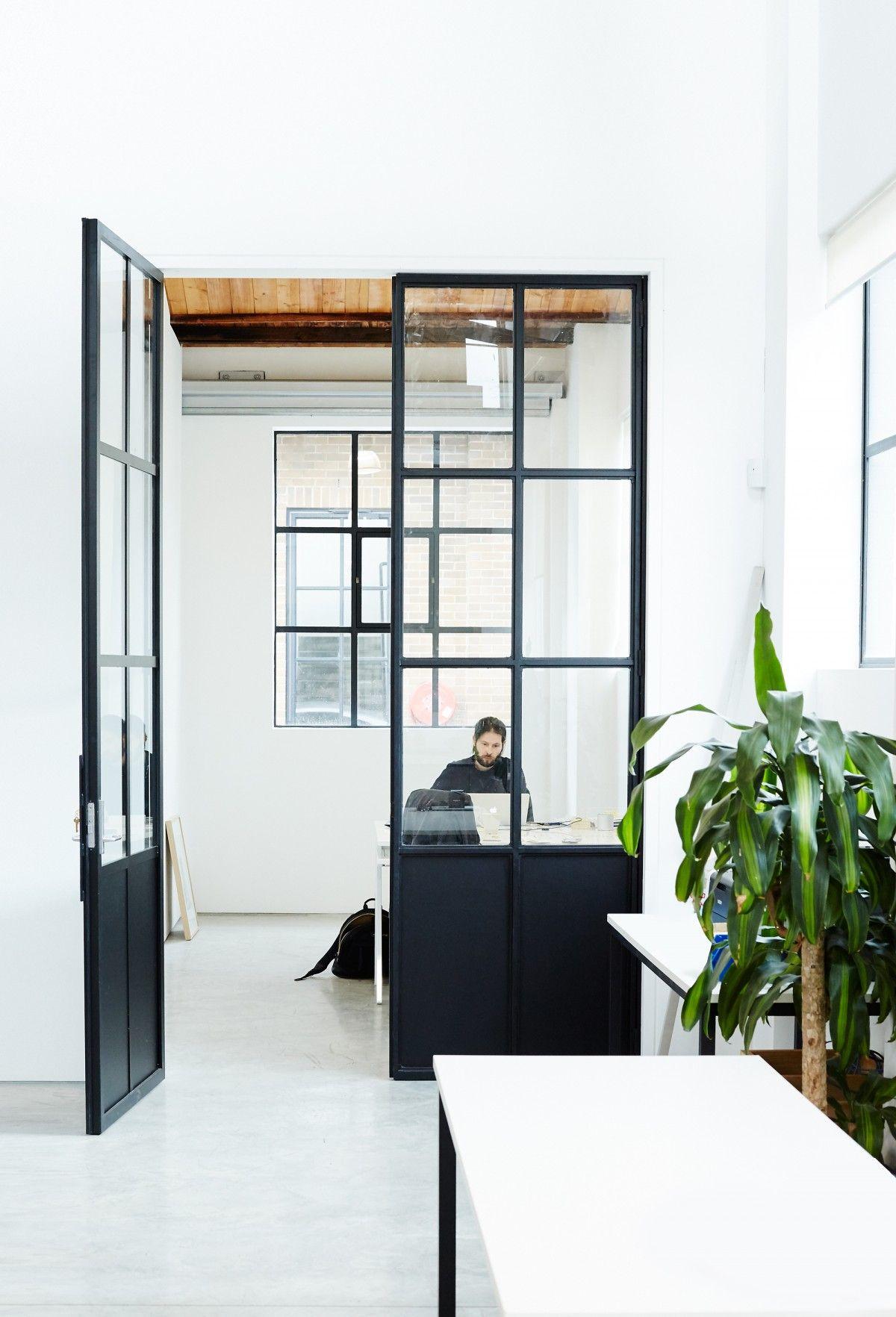 office tour inside sarah sebastian s minimalist sydney studio