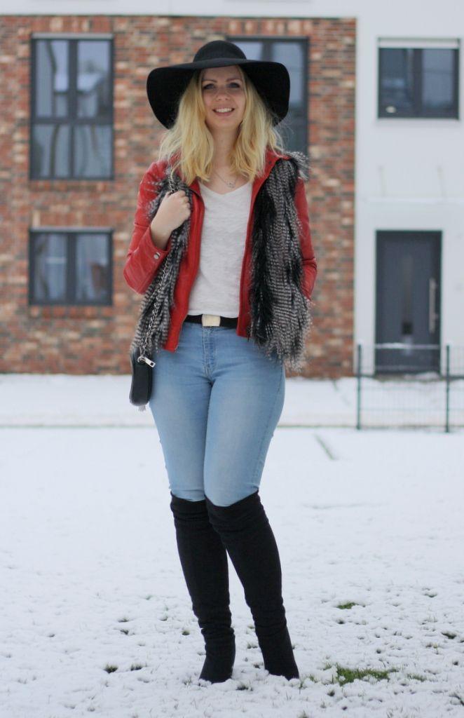 One topic, 9 styles Wie kombiniere ich eine Lederjacke 1
