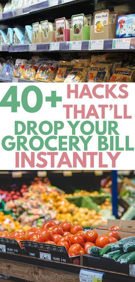 Grocery Shopping on a Budget: 40+ Tips to Save Money on Groceries #couponing