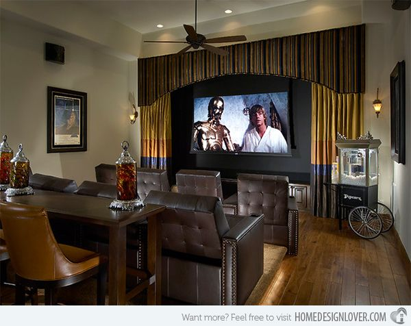 15 Interesting Media Rooms And Theaters With Bars Home Design Lover Home Bars For Home Media Room Design