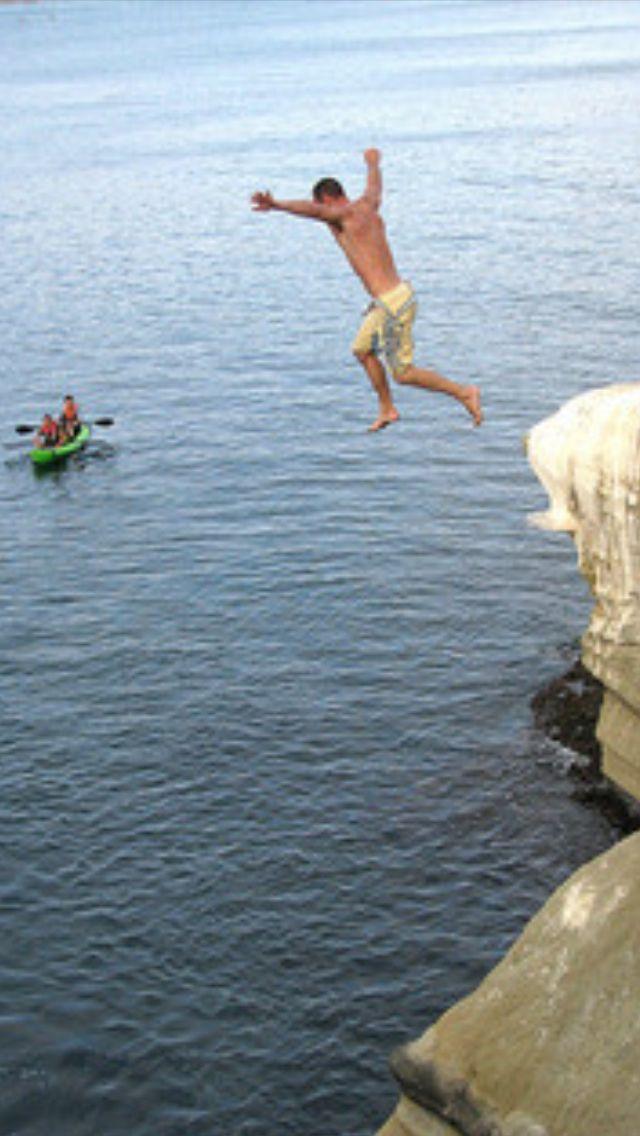 Cliff Jumping: Water fun in the sun!