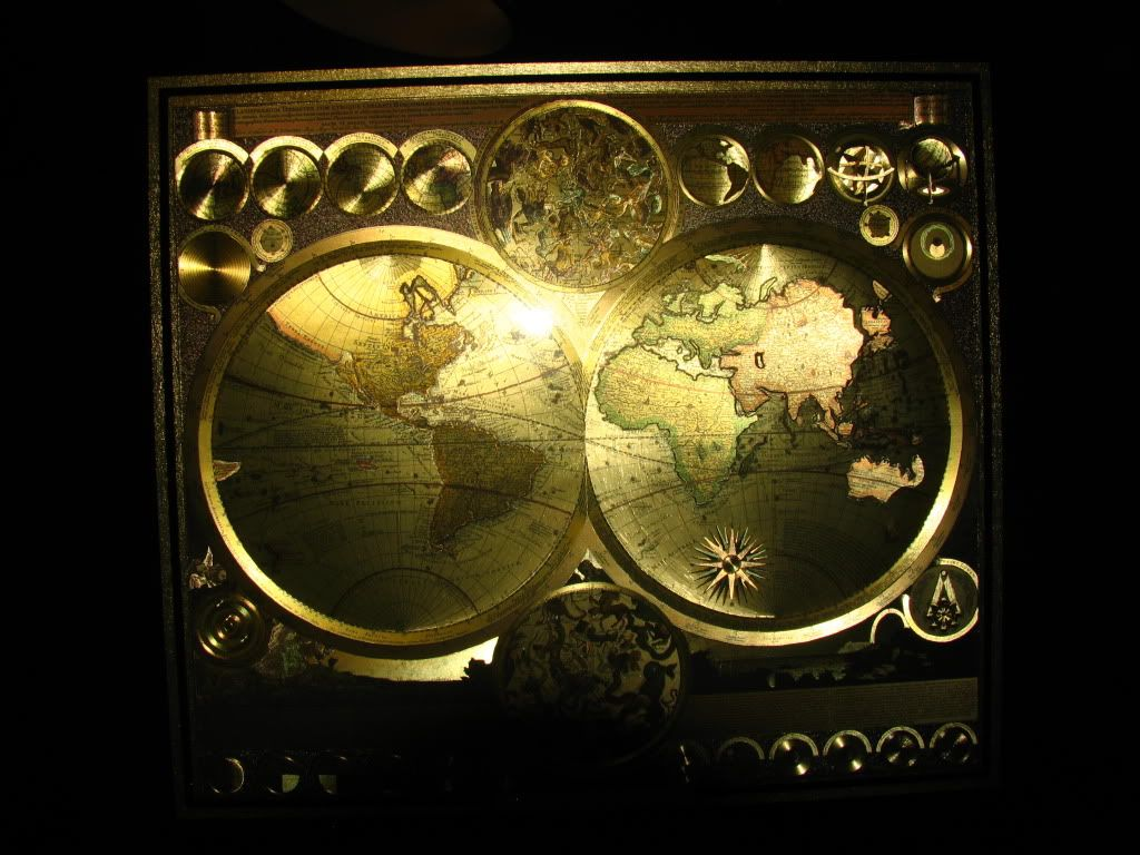 Beautiful foil world map by peter schenk the elder 1645 1715 beautiful foil world map by peter schenk the elder 1645 1715 very big print gumiabroncs Images