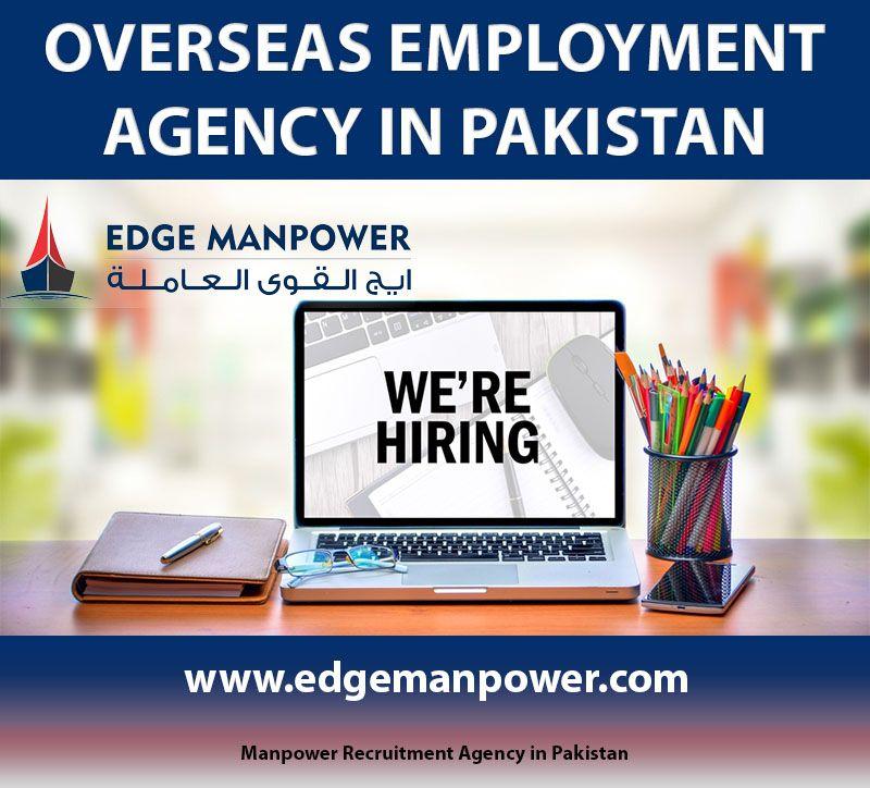 Overseas Best Employment Agency In Pakistan Contact 042