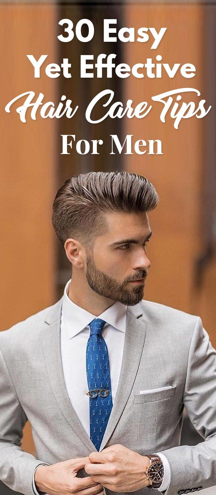 Best hair care tips for men to get healthy hair hair cuts bouncy