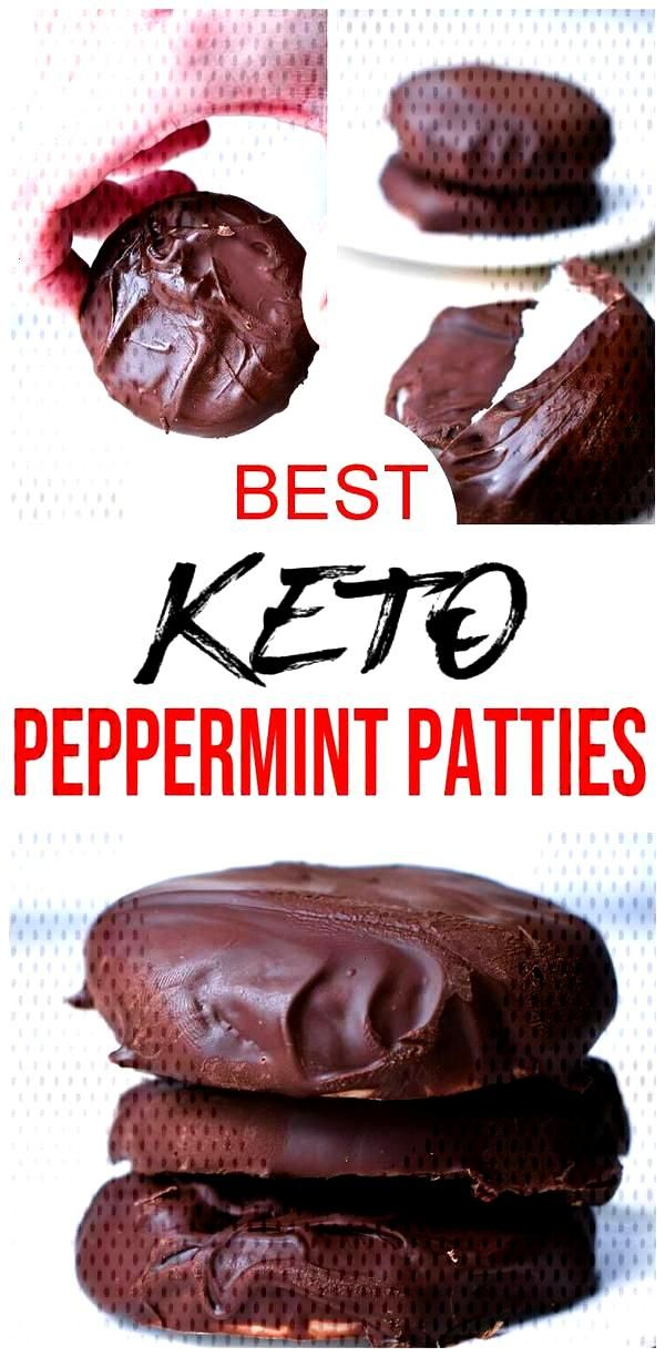Keto Candy! BEST Low Carb Keto Peppermint Patties Idea – Quick amp Easy Ketogenic Diet Recipe –..