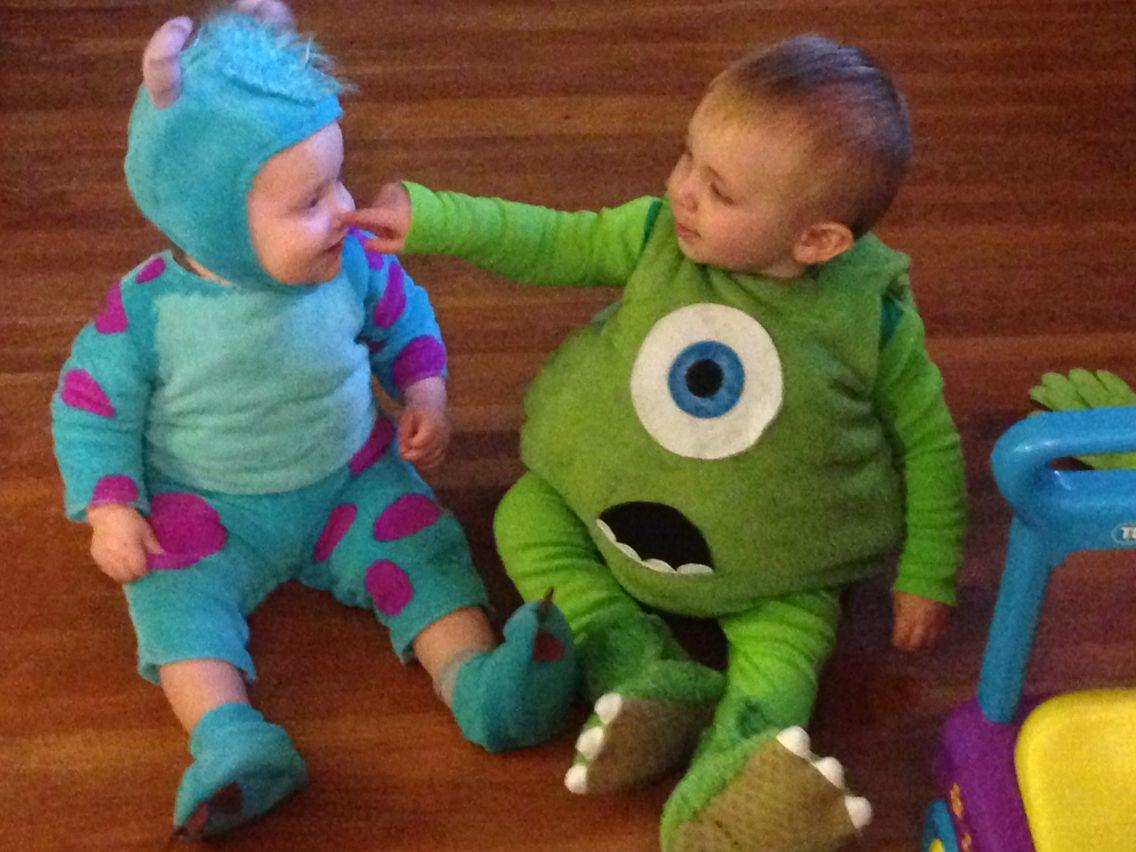 Diy Mike Wazowski Costume Toddler Fiestas De Cumpleanos De
