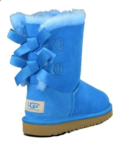 uggs with bows | ugg-kids-ugg-boots-kids-bailey-bow-blue-sky-36233.jpg | mac fashion | Pinterest | Uggs