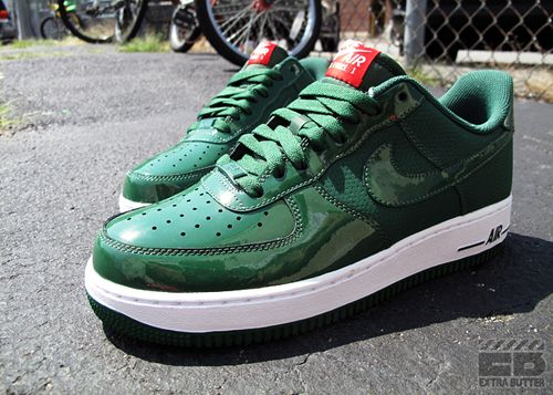 Wholesale Nike Air Force 1 Low Shoes Court Green Gorge Green