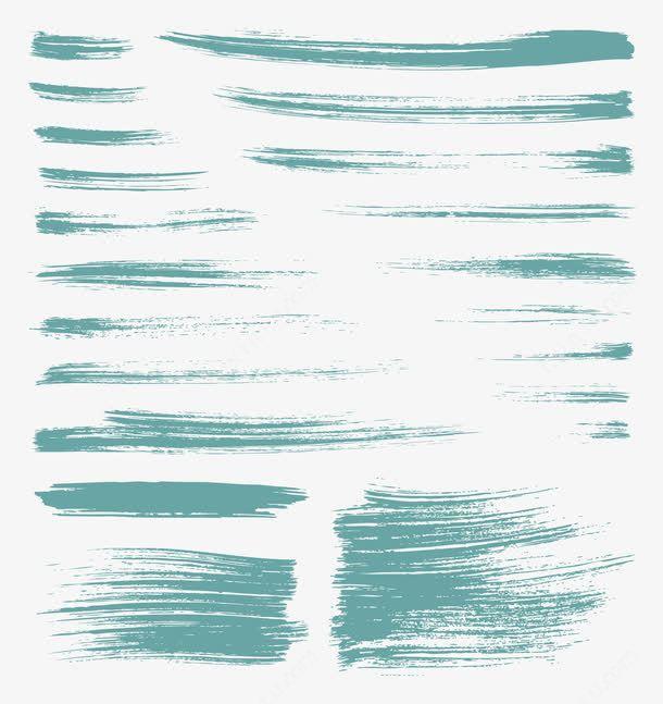 墨迹效果矢量图高清素材ps笔刷墨水墨点墨迹文字背景图形毛笔痕迹水墨泼墨涂鸦笔刷 Water Waves Outdoor
