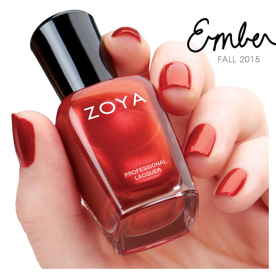 Zoya Ember from the Flair Collection | Fall Nail Polish | Pinterest ...