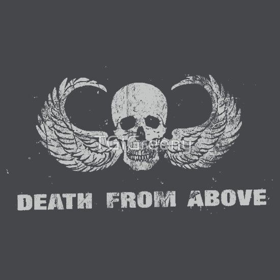 Death from above no background