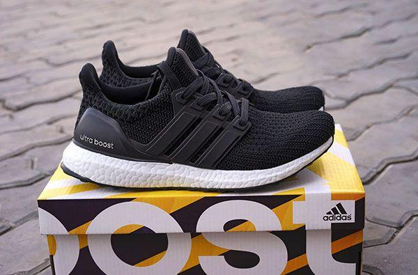 cheap for discount db074 33df2 giày adidas ultra boost 4.0 đen đế trắng