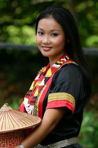 Bornean Dayak Woman