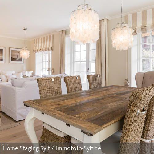 Couch Wohn Esszimmer Landhausstil Wohnzimmer Esszimmer Gestalten
