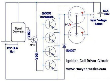 Ignition Coil Driver Circuit Diagram | Build Ideas | Pinterest ... on 12 volt boat wiring diagram, 72v wiring diagram, 11.1v wiring diagram, power wiring diagram, 20v wiring diagram, accessories wiring diagram, 12v wiring chart, lighted rocker switch wiring diagram, 120v wiring diagram, 36v wiring diagram, 125v wiring diagram, 12v starter, 110v wiring diagram, 3.5mm jack wiring diagram, 12v wiring symbols, 12v wiring basics, 12v electrical wiring, 30a wiring diagram, 38v wiring diagram, driving light wiring diagram,