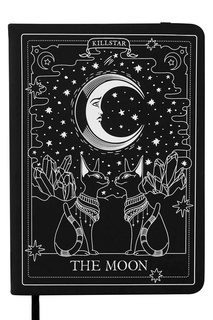 Amaris Journal Killstar Uk Store The Moon Tarot Card The Moon Tarot Moon Tapestry