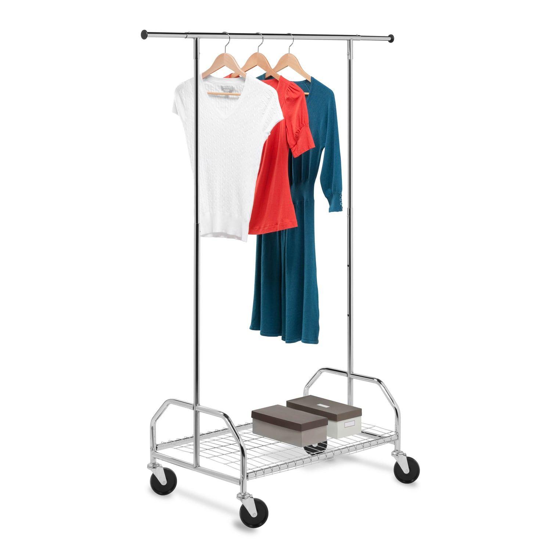 Honey Can Do Bottom Shelf Garment Rack Garment Racks Rolling Garment Rack Clothing Rack