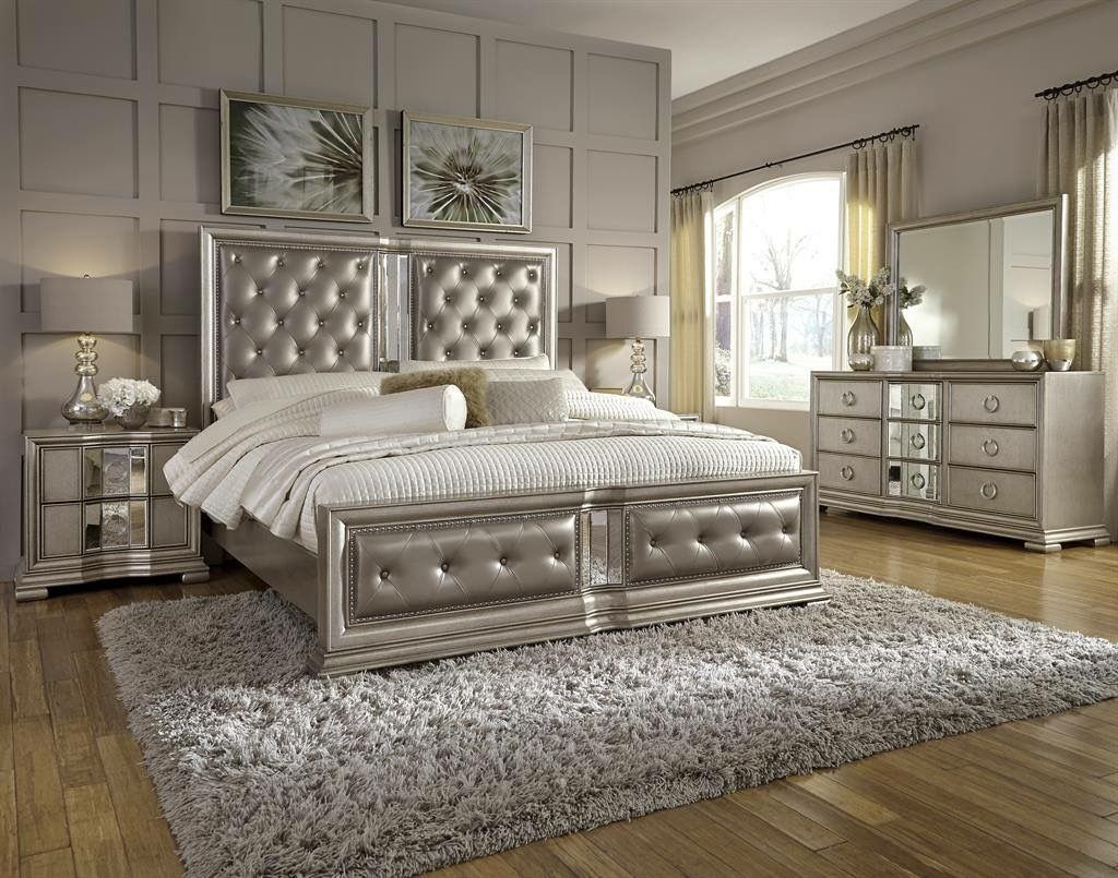 Pin by furniture ville on Bedroom  Silver bedroom furniture