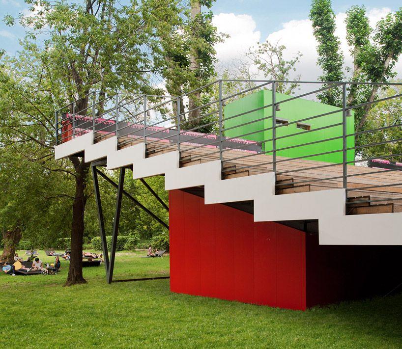wowhaus open air cinema pioneer Cinema architecture