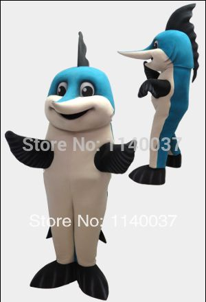 mascot marlin dolphin mascot costume custom fancy costume anime cosplay kits mascotte theme fancy dress carnival & mascot marlin dolphin mascot costume custom fancy costume anime ...