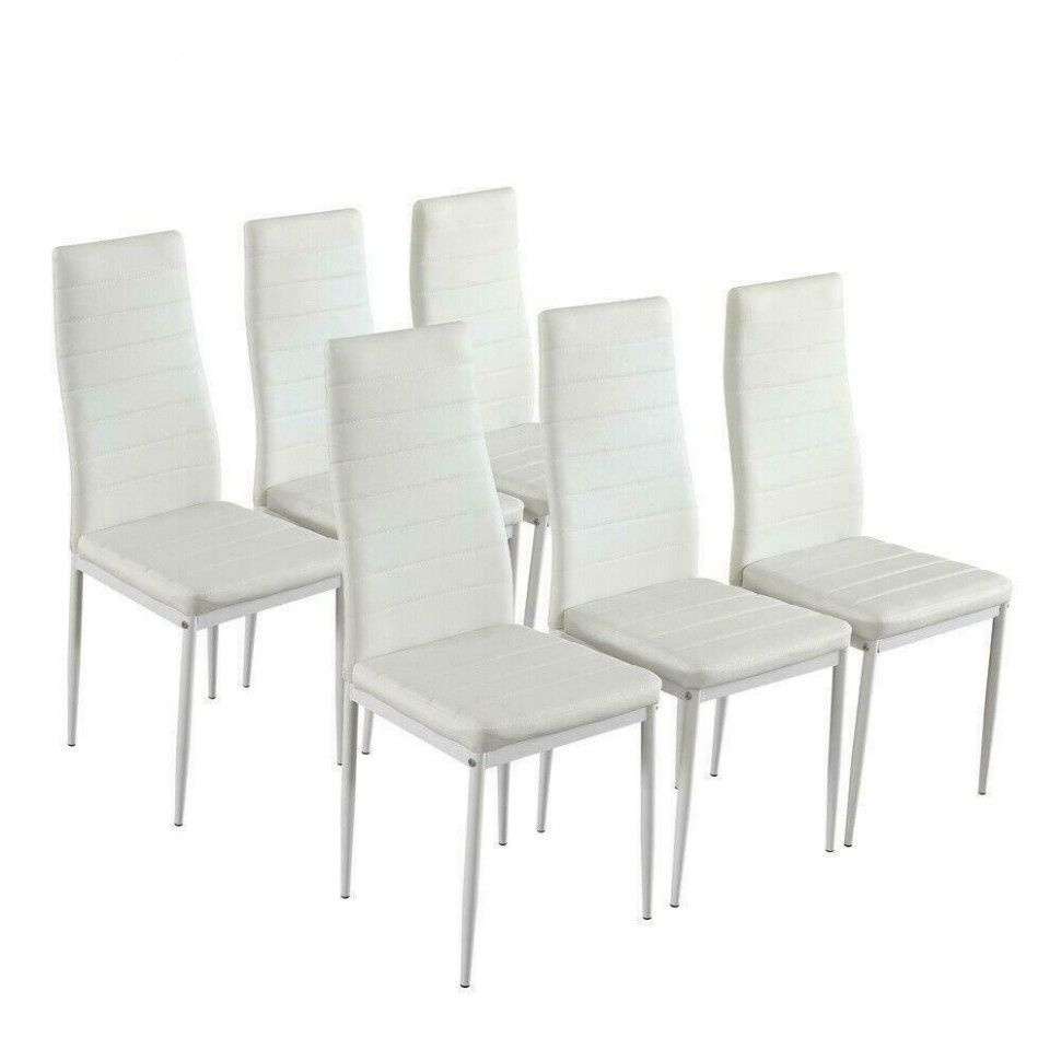 Kettler Garden Furniture Ebay in 9  Dining chair set, White
