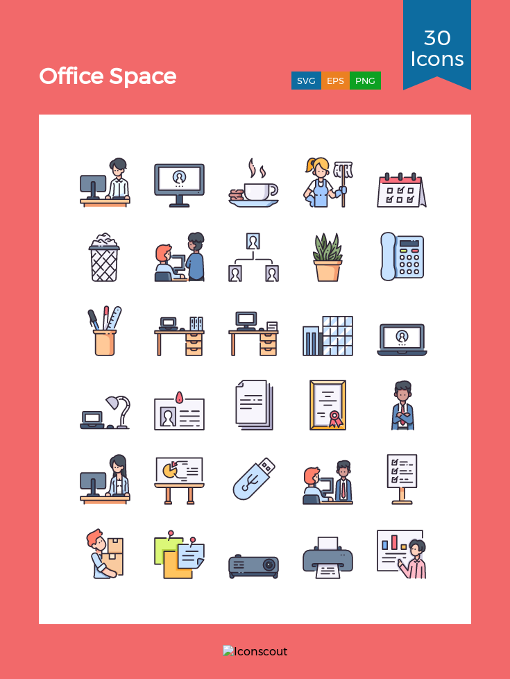 Download Download Office Space Icon pack - Available in SVG, PNG ...