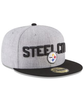 7c5e4561c New Era Boys' Pittsburgh Steelers Draft 59FIFTY Fitted Cap - Gray 6 3/4