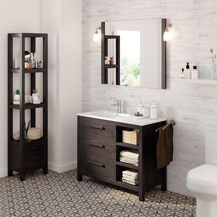Amazonia modelo mueble ba o leroy merlin 2016 lavabo muebles de ba o ba os y muebles de lavabo - Leroy merlin armarios de bano ...