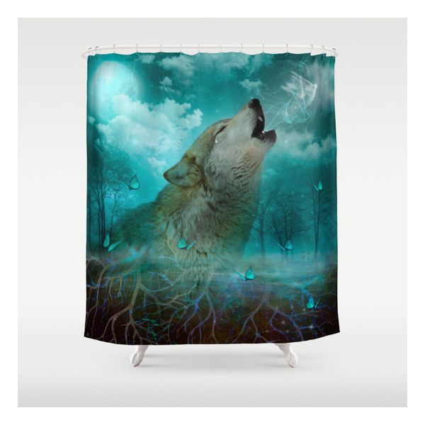 I Ll See You In My Dreams Cry Of The Wolf Shower Curtain Wolf
