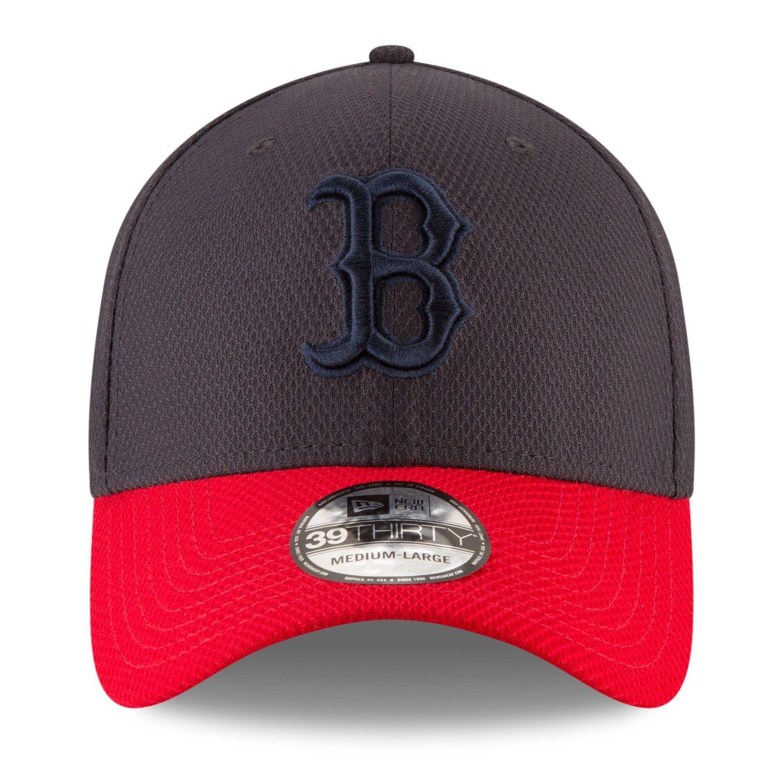 Adult New Era Boston Red Sox 39thirty Tone Tech Redux Flex Fit Cap