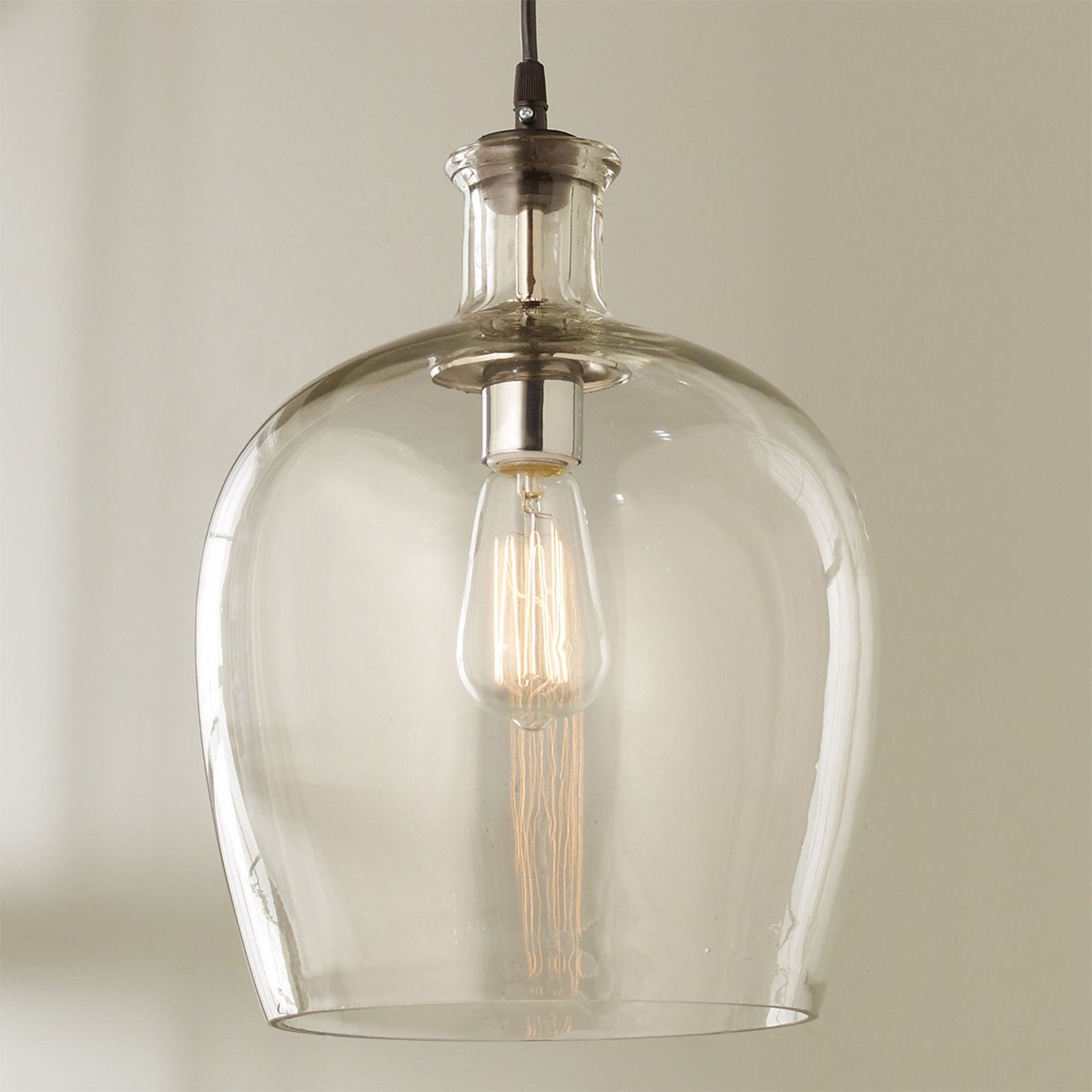 Carafe Gl Pendant Light Large In 2019 Lighting