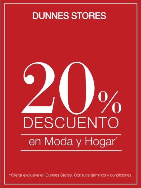 Dunnes El Ingenio agradece tu confianza con un 20% de descuento ...