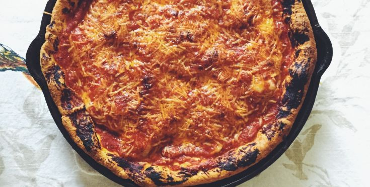 Ginos East Chicago Deep Dish Pizza Recipe Pizza And Flatbreads