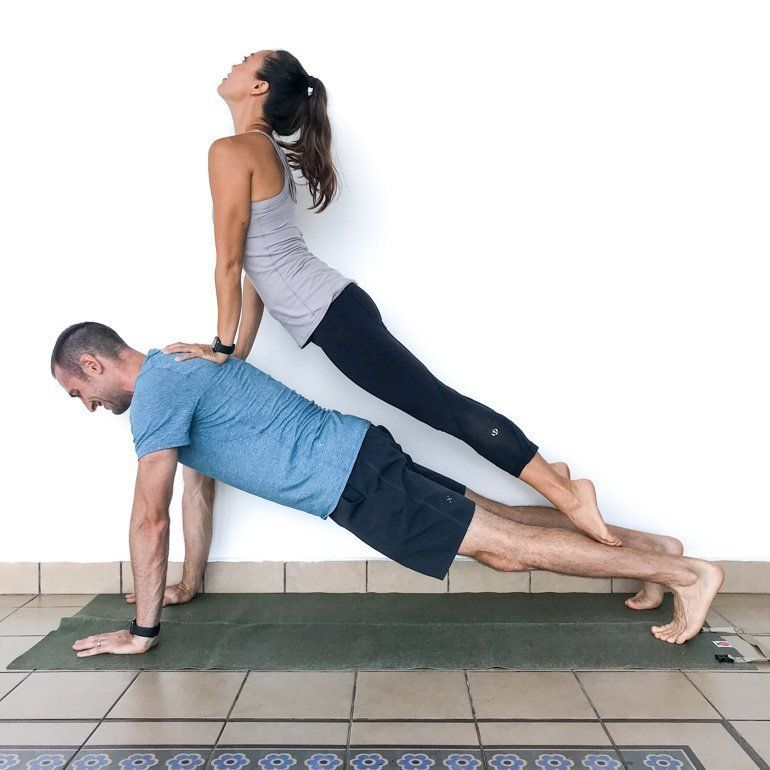 Couple S Yoga Poses Easy Medium And Hard Couples Yoga Poses Yoga Poses For Two Two People Yoga Poses
