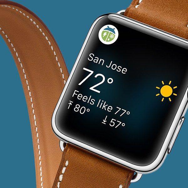 WeatherBug Apple Watch #brand #harbrco #ui #app #ux #applewatch #대일리디자인 #컨셉 #포스터 #concert #dayilydesign #dayilydevevery #daily  https://dribbble.com/shots/2336033-WeatherBug-Apple-Watch by jhrsoft.ahnjy