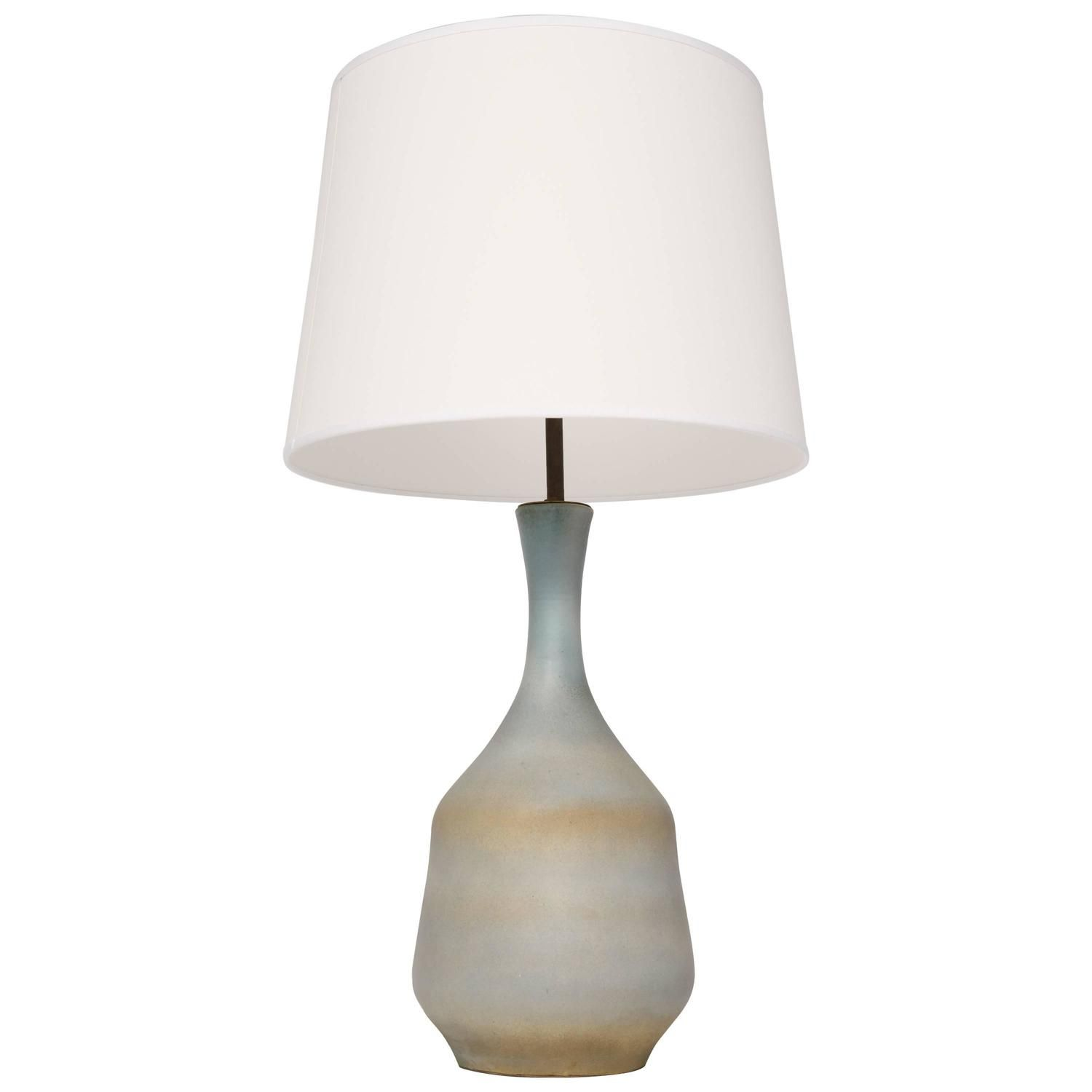 Suzanne Ramie Madoura, Ceramic Table Lamp, Circa 1960 | From A Unique  Collection Of