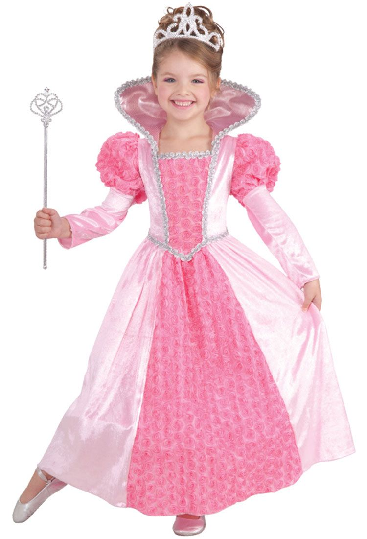 costume princess dresses for girls girls rose princess costume princess costumes - Halloween Princess Costumes For Toddlers