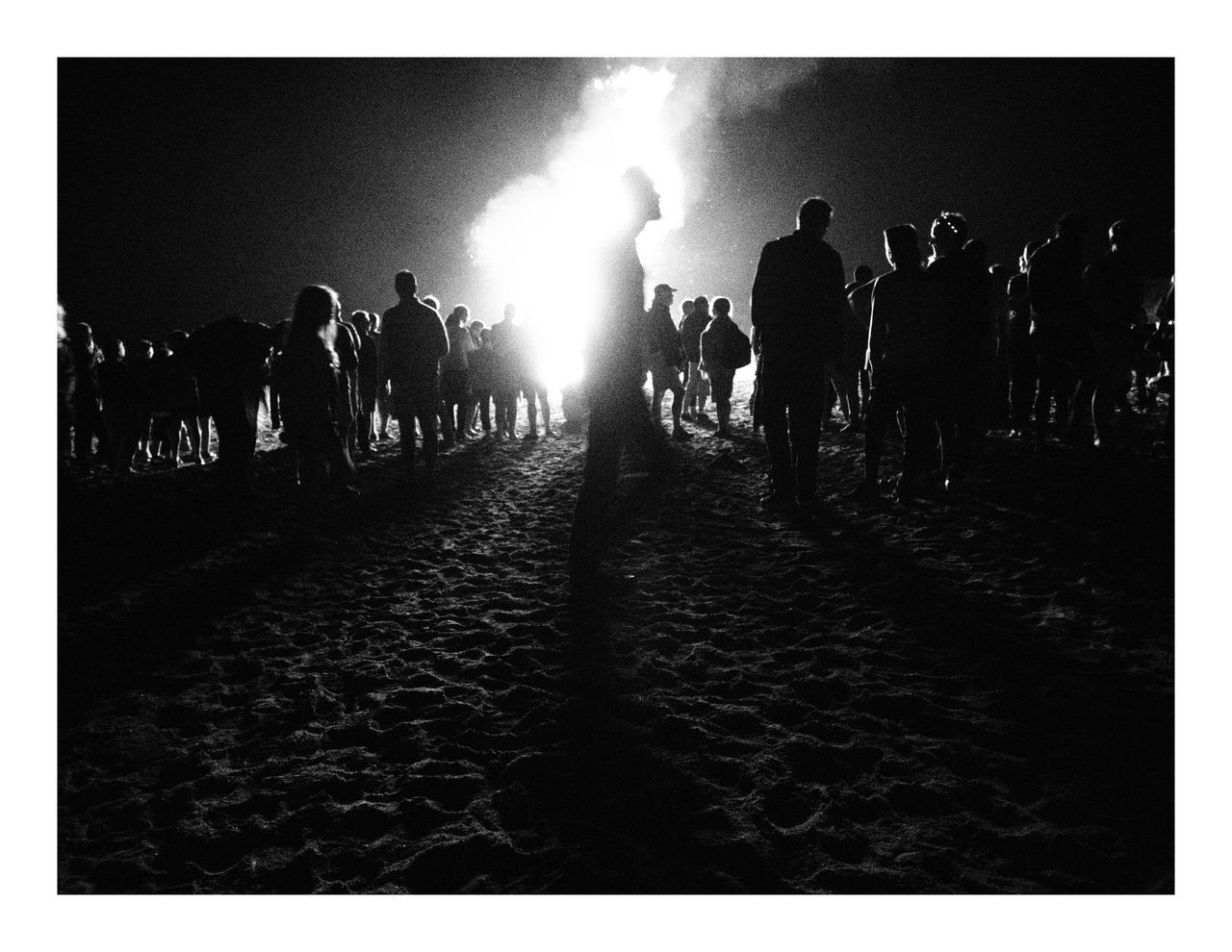 Beach's fire - by Luc PIERRE
